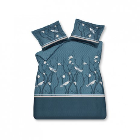 Small Birds Parisian Blue